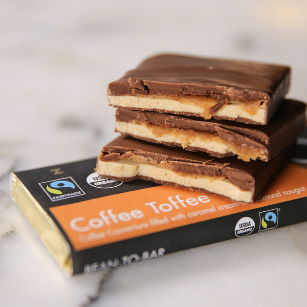 Zotter Chocolates Coffee Toffee