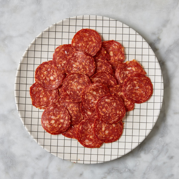 Brooklyn Cured Sliced Hot Sopressata 3oz