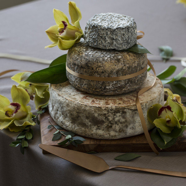 Rustic Cheese Tower