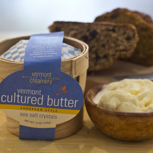 Vermont Creamery Cultured Butter Basket 2-Pack | Murray's ...