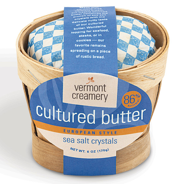 Vermont Creamery Cultured Butter Basket