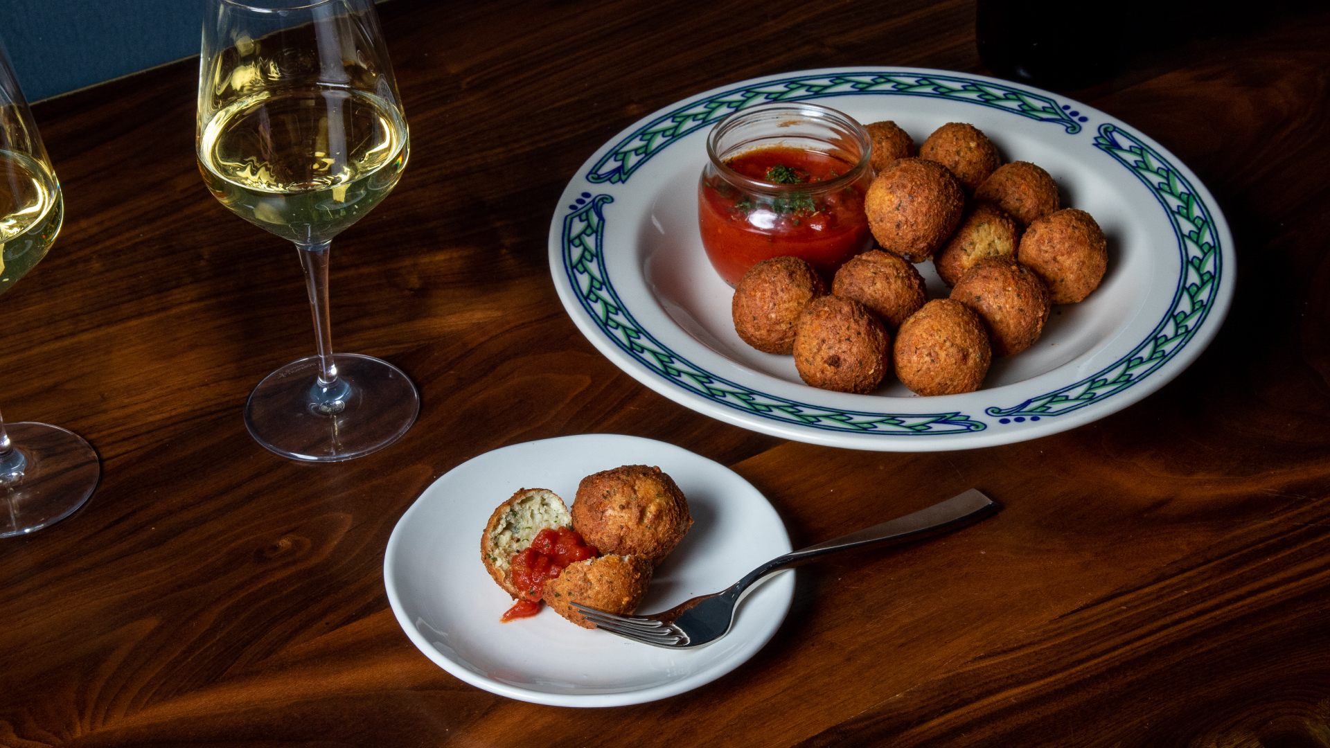 Pecorino and Herb Cheeseballs