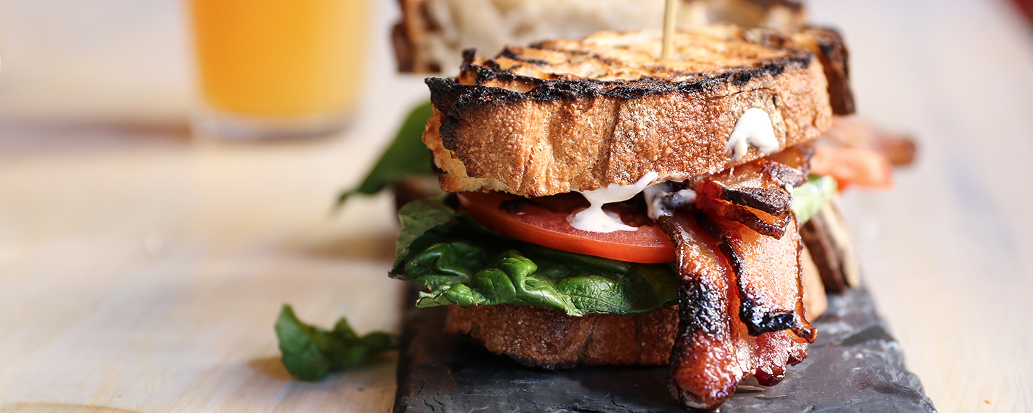 BLT with Blue Cheese Dressing