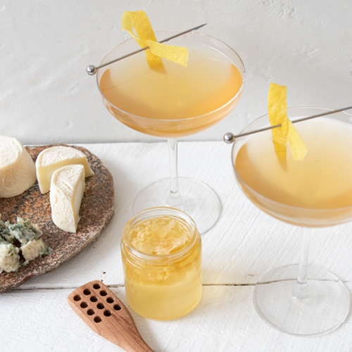 The Bees' Louise Cocktail with Cheese Pairings