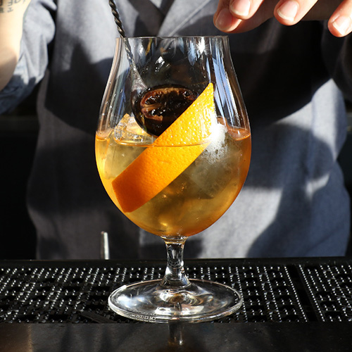 Boqueria Calvados Old Fashioned