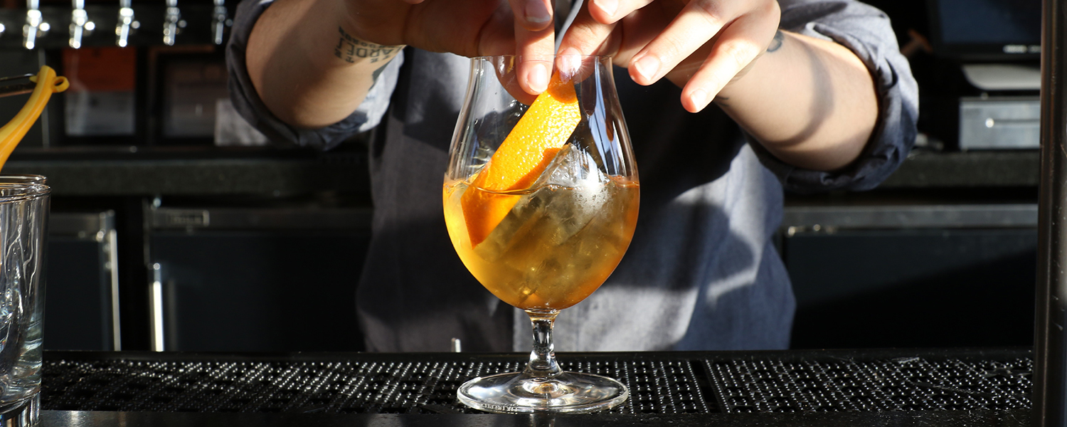 Boqueria's Calvados Old Fashioned