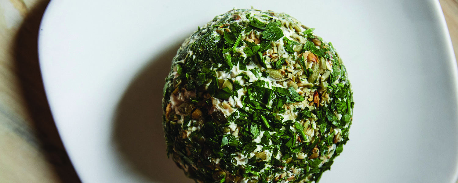 Smokey Holiday Cheeseball