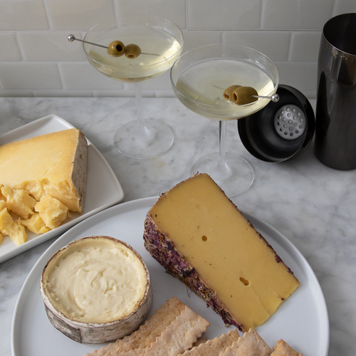 Classic Martini with Cheese Pairings