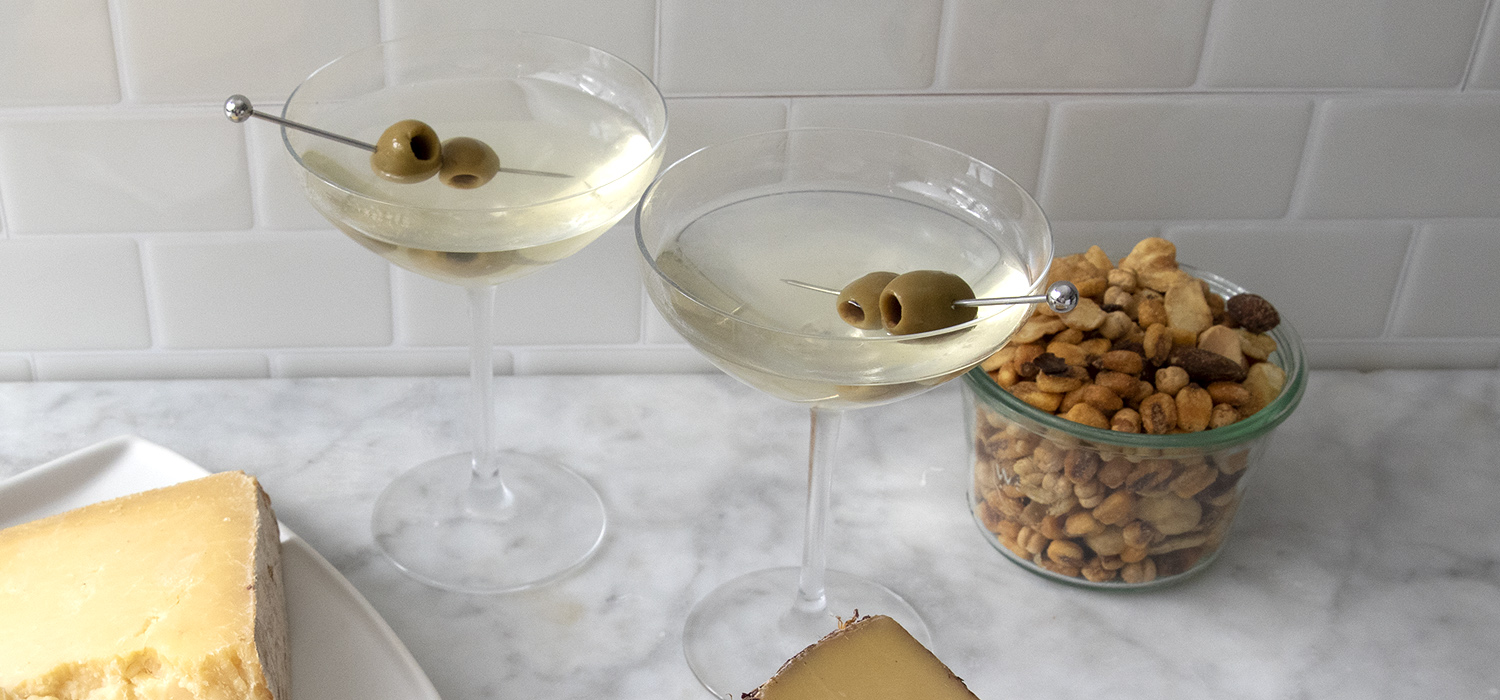 Classic Martini with Cheese Pairings 2
