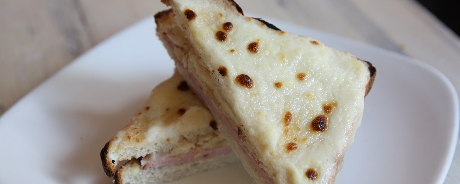 Classic French recipe for Croque Monsieur