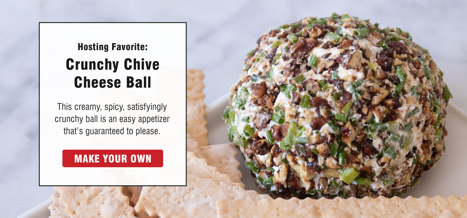 crunch chive cheese ball