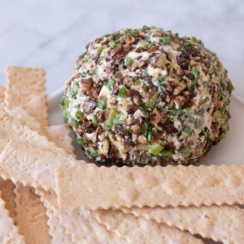 Crunchy Chive Cheese Ball