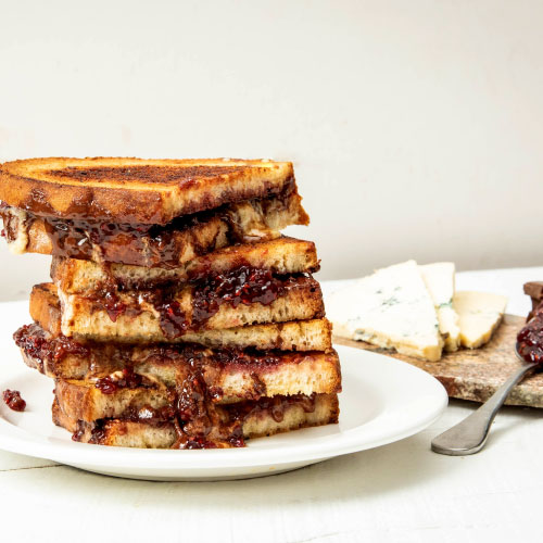 Dessert Grilled Cheese