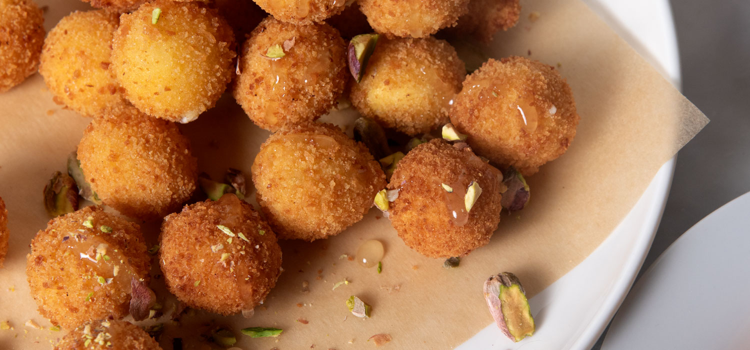 Fried Goat Cheese Balls 3