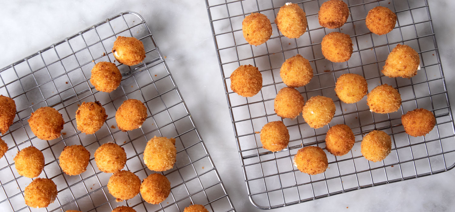 Fried Goat Cheese Balls 4