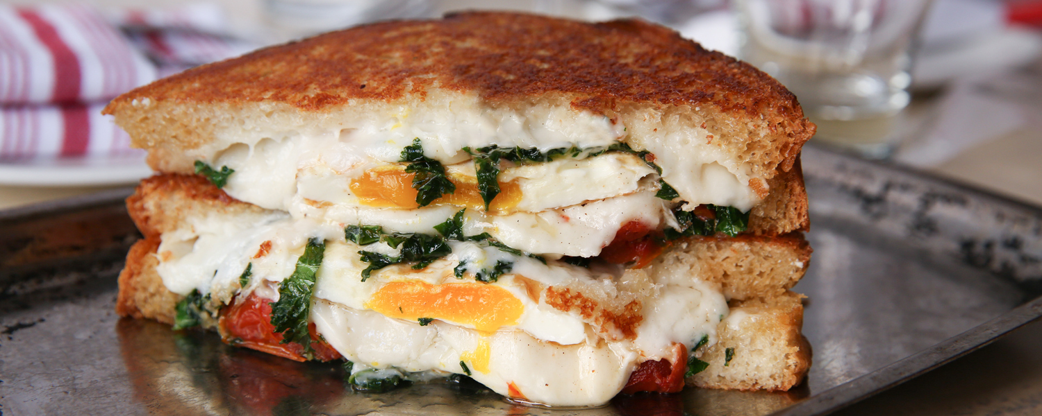 The Garden Goat Grilled Cheese