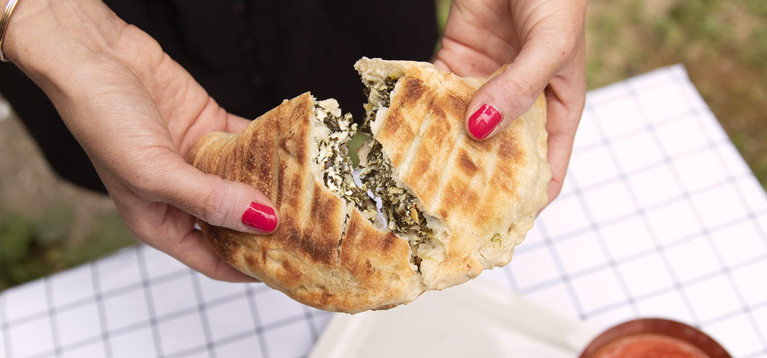Grilled Spinach Artichoke Calzones 1