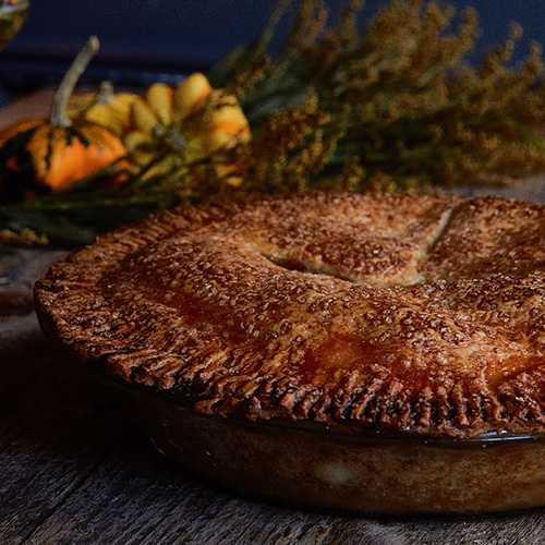 Murray's Apple-Cheddar Pie