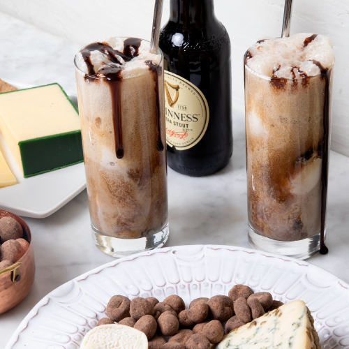 Guinness Affogato With Cheese Pairings