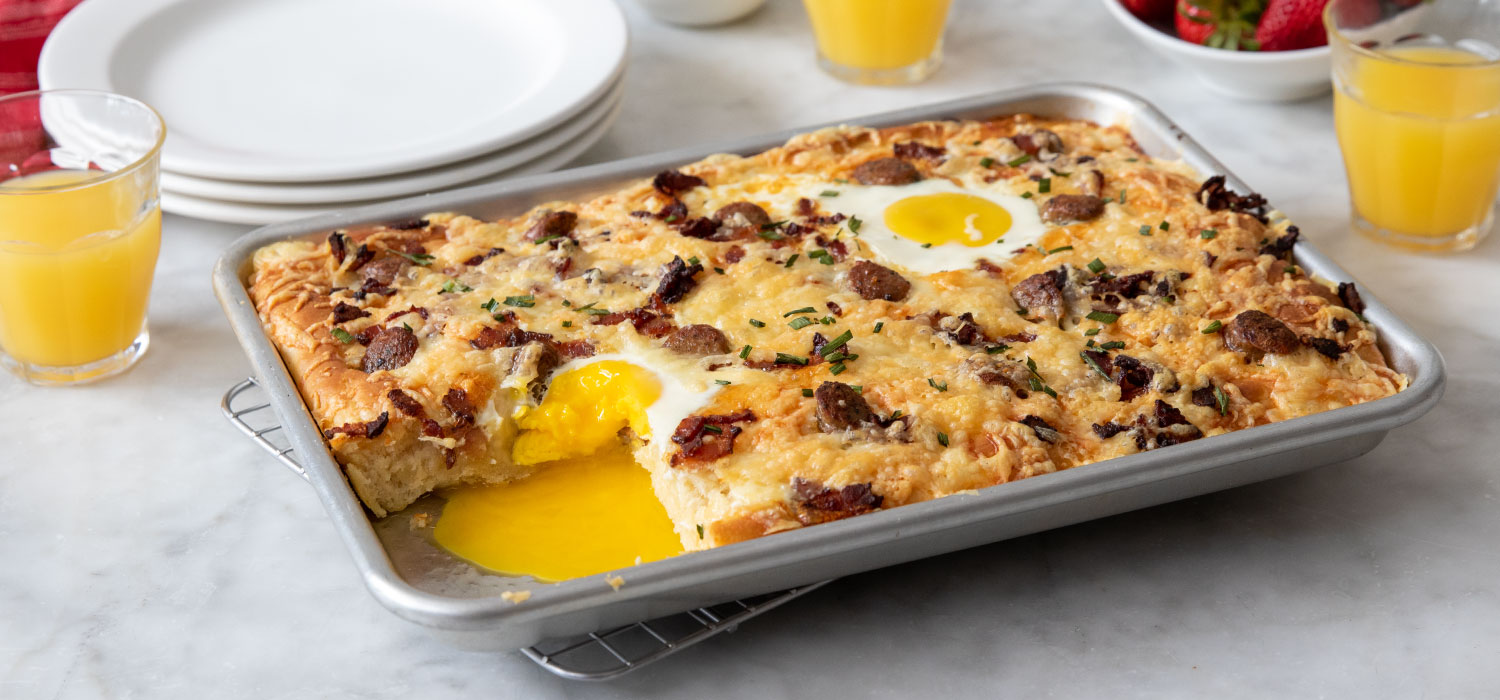 Loaded Breakfast Pizza Pie 2