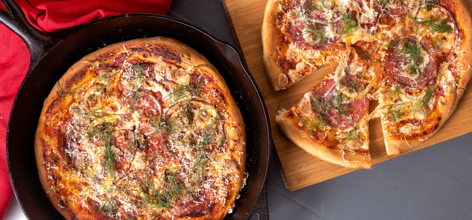 Murray's Classic Cast Iron Pizza