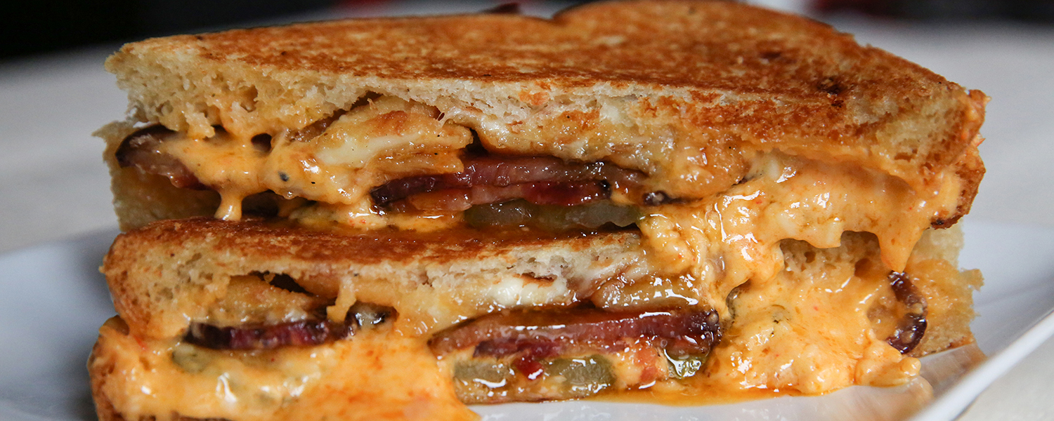 The Southern Cow Grilled Cheese