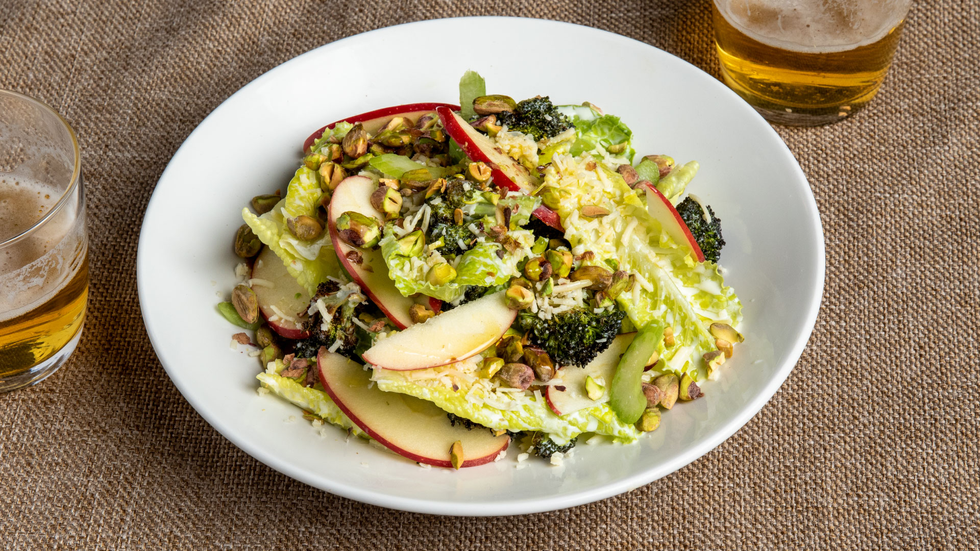 Roasted Broccoli & Beecher's Cheddar Salad