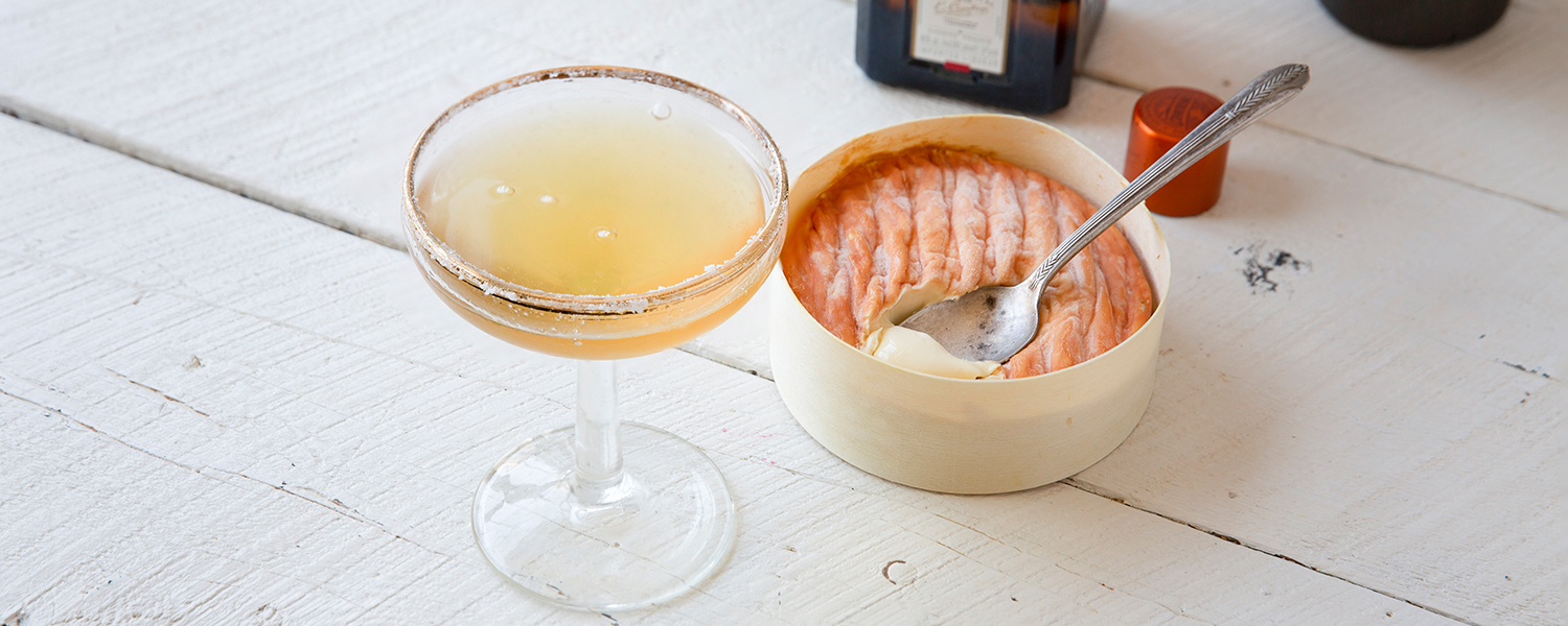 Sidecar Cocktail and Epoisses pairing