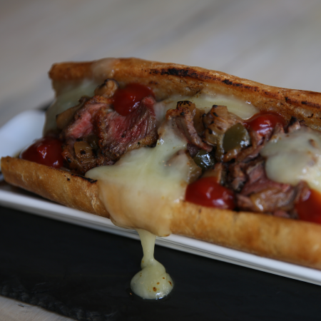 Murray's Cheesy Steak Sandwich