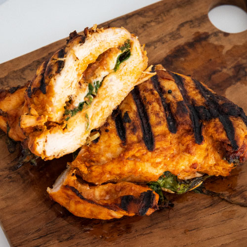 Grilled Chicken Roulade