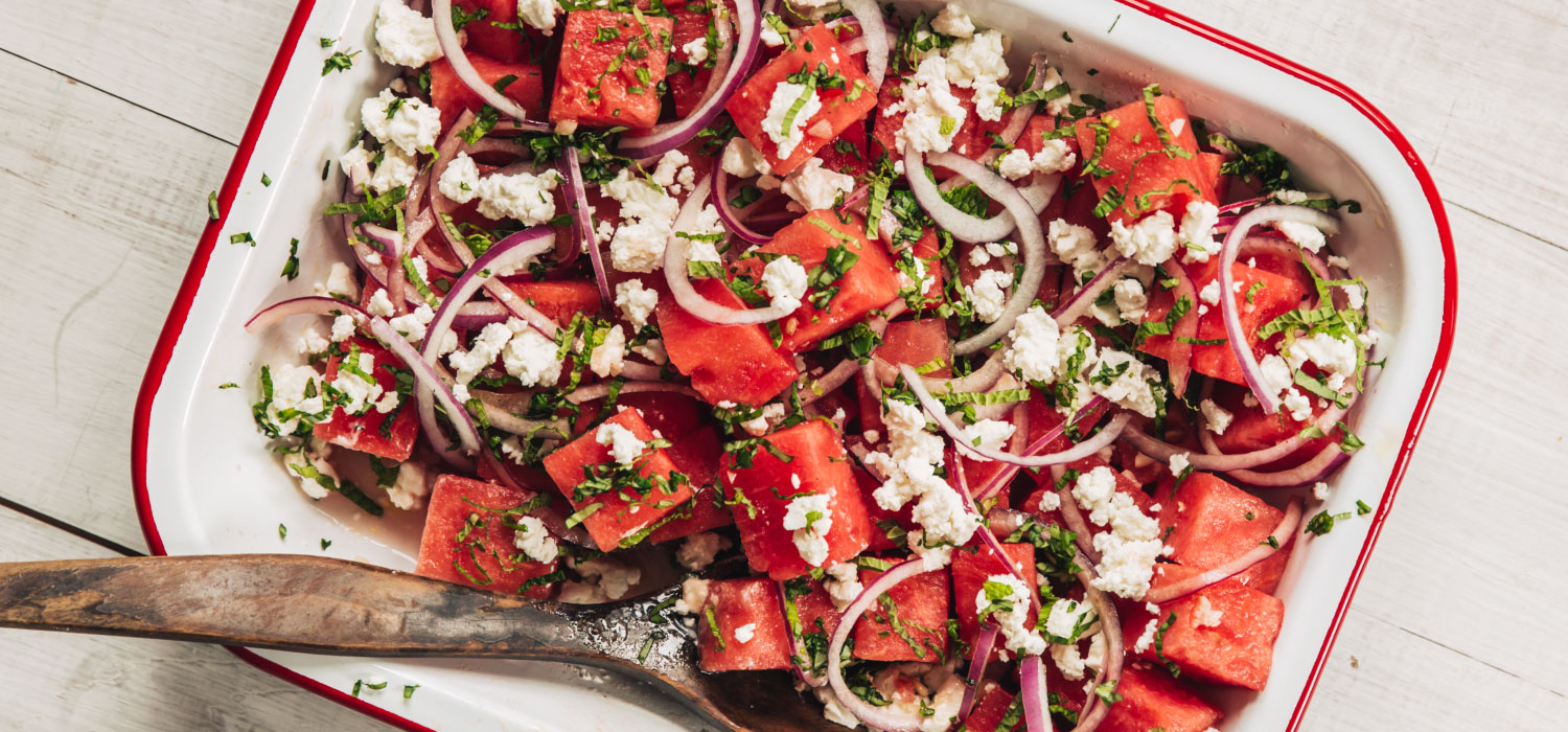 Summer Watermelon Salad by Vermont Creamery
