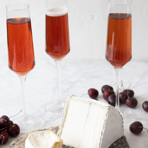 The Cherry Dangereuse Cocktail with Cheese Pairings