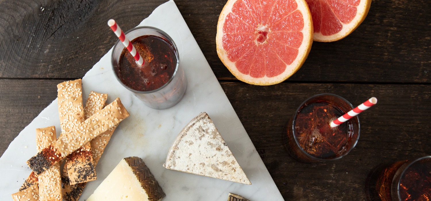 The Truth or Pear Cocktail with Cheese Pairings
