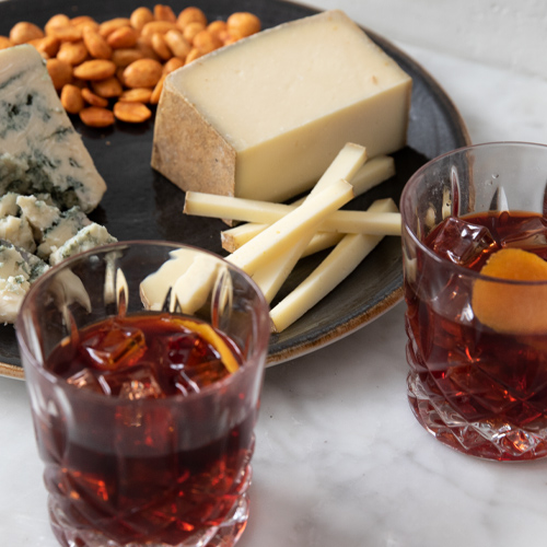 The Usual Cocktail with Cheese Pairings