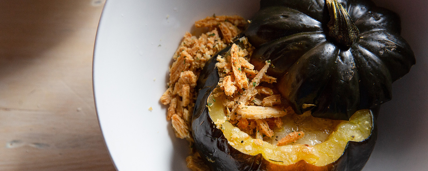 Baked Winter Squash with Hollander