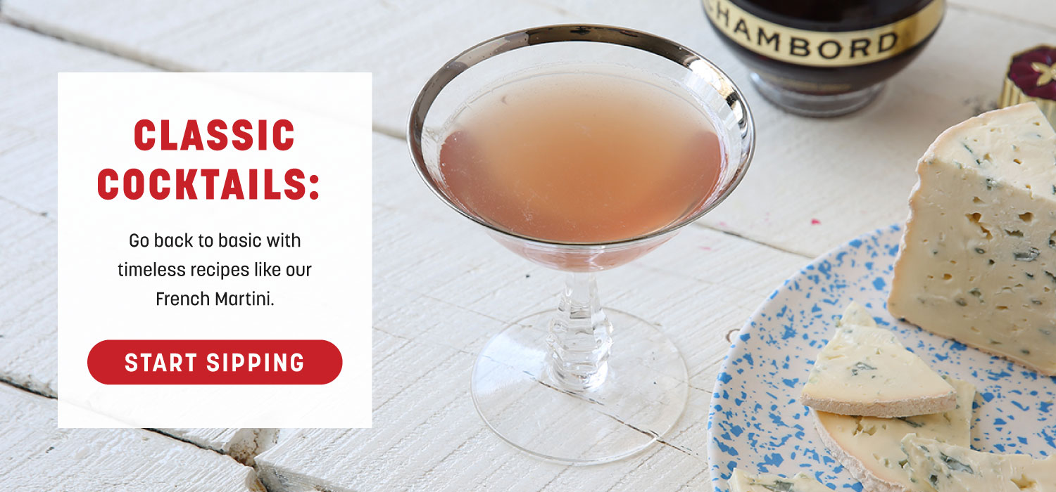 Classic Cocktails: French Martini
