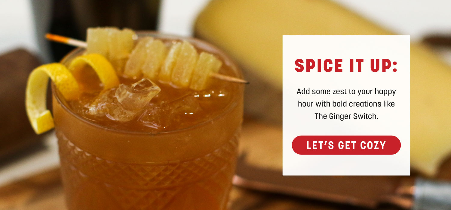 Spice It Up: The Ginger Switch
