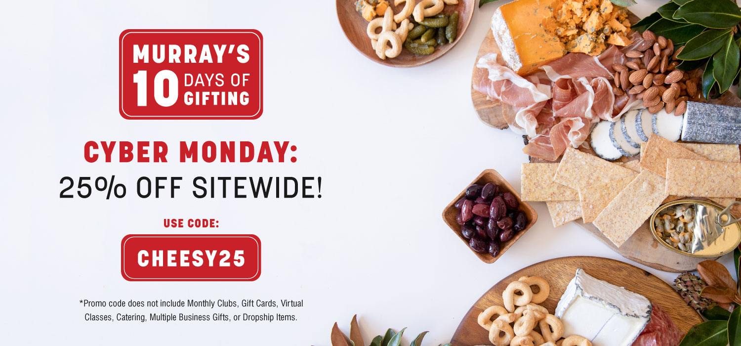 Ten Days of Gifting Day 4: 25% Off Sitewide for Cyber Monday