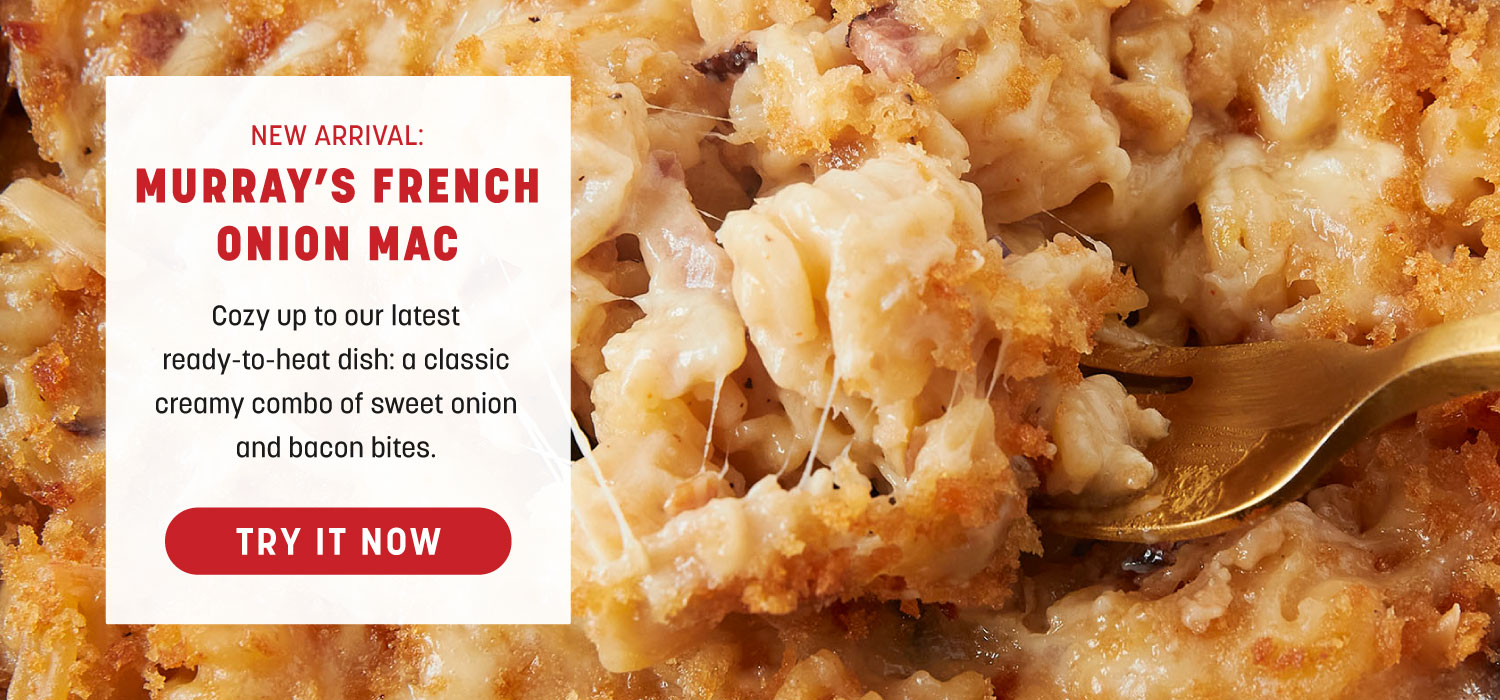 New Arrival- Murray's French Onion Mac