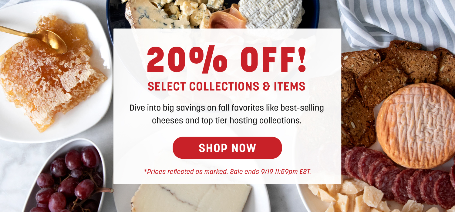20 Percent Off Select Collections and Items