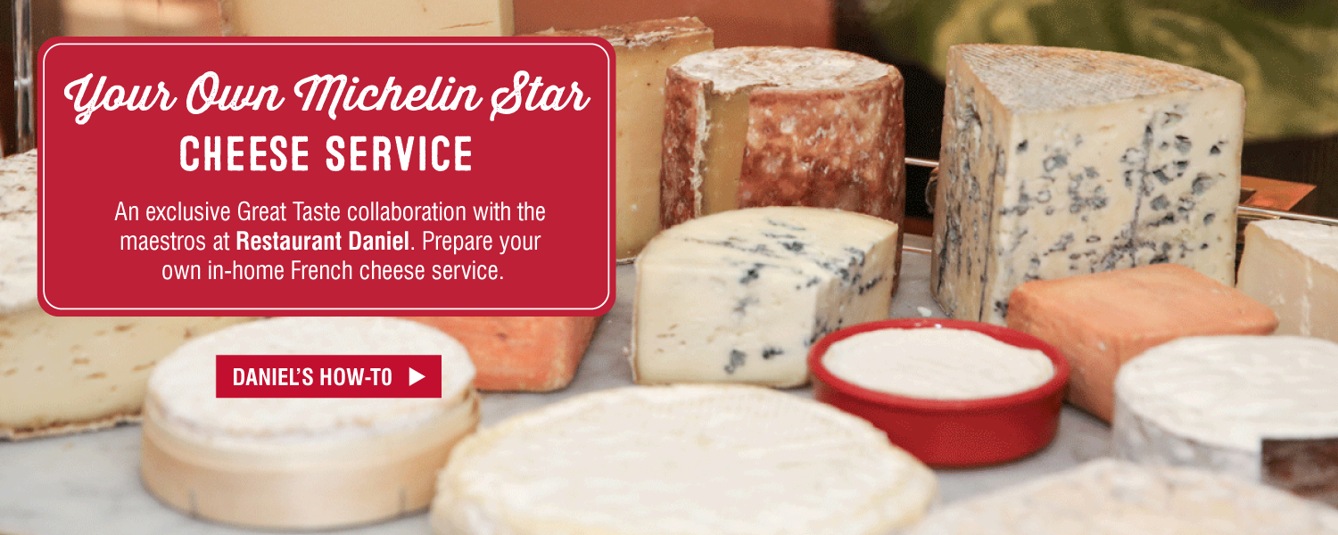 Great Taste at Murray's featuring At-Home French Cheese Service from Restaurant Daniel