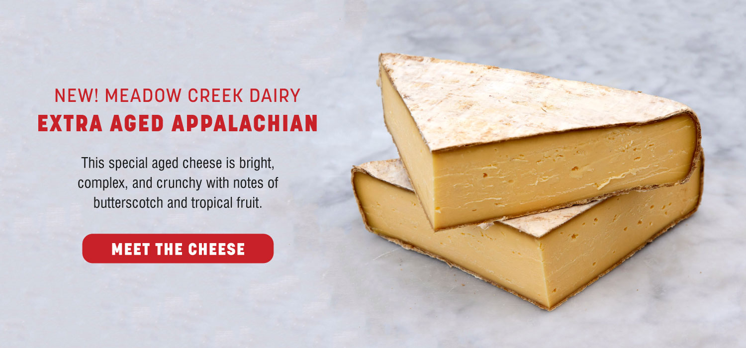 New! Meadow Creek Dairy Extra Aged Appalachian