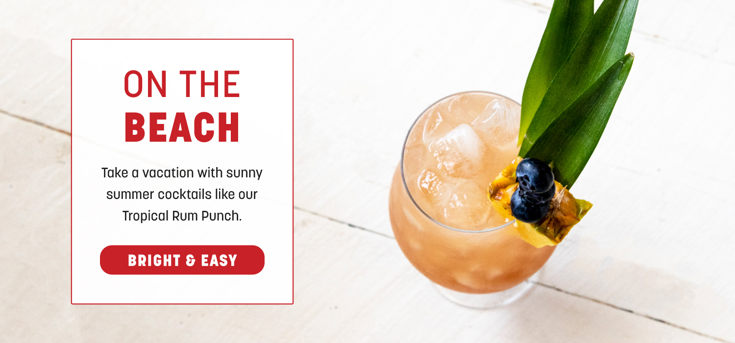 Happy Hour: Tropical Rum Punch