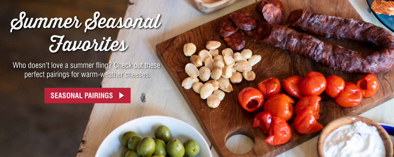 Summer Seasonal Favorites! Mediterranean Cheese Platter